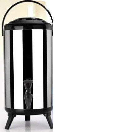 【八八八】e網購~【雙層不銹鋼保溫/保冷茶桶10L】NO135 保溫茶桶 冰桶 保冰保冷保溫桶