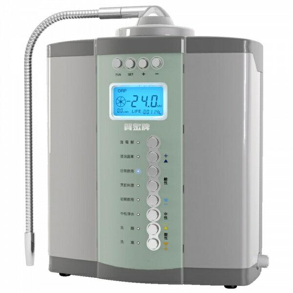 得意專業家電音響:UNION賀眾牌UA-6502JS-1桌上型活性氫電解水機【零利率】