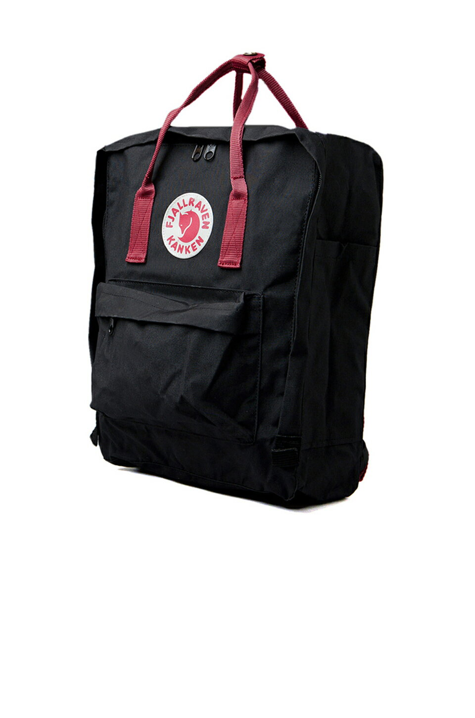 【Fjallraven Kanken 】K?nken Classic 550-326 Black & Ox Red 黑公牛紅 1