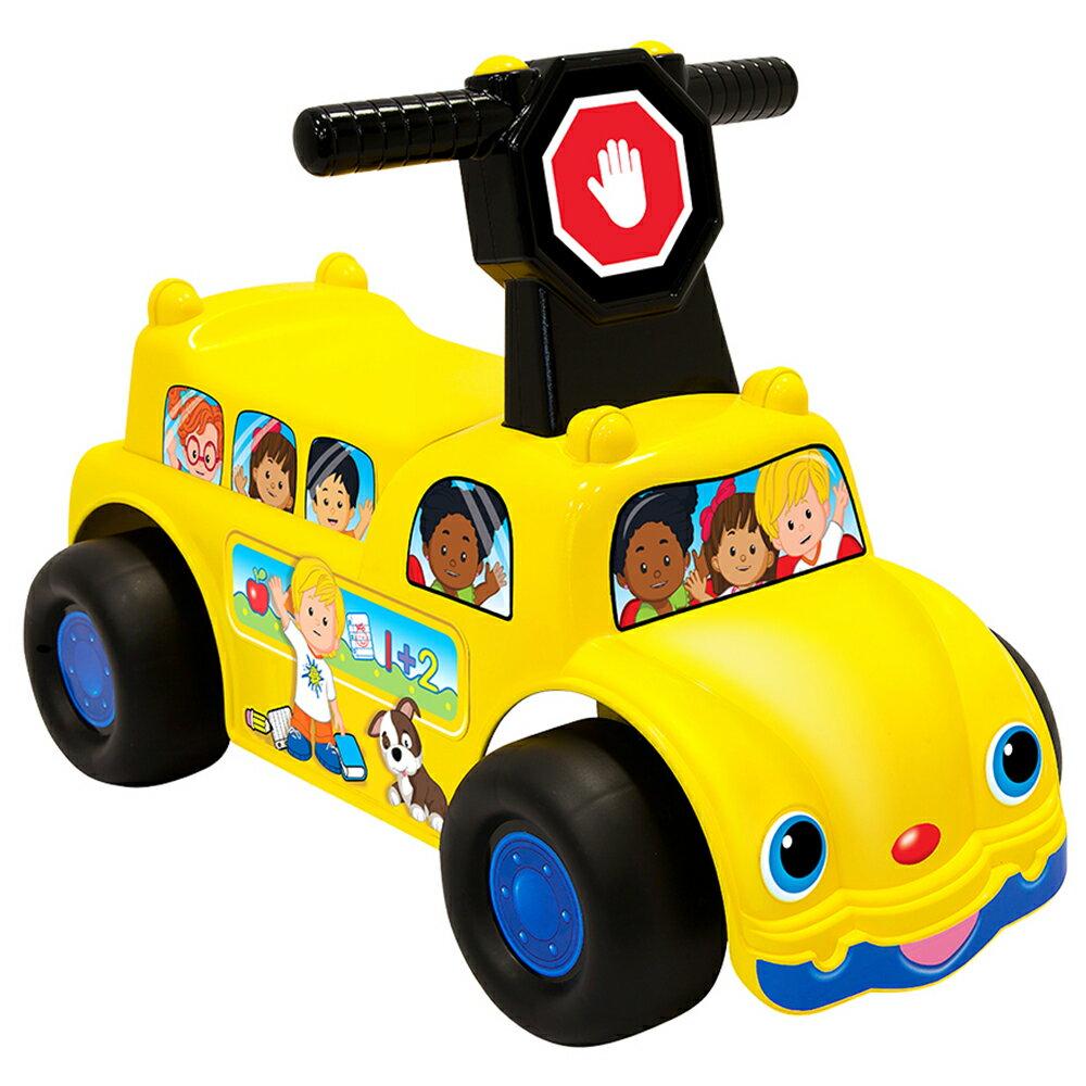 【麗嬰房】美國 Fisher Price 費雪 little people-歡樂校車騎乘玩具