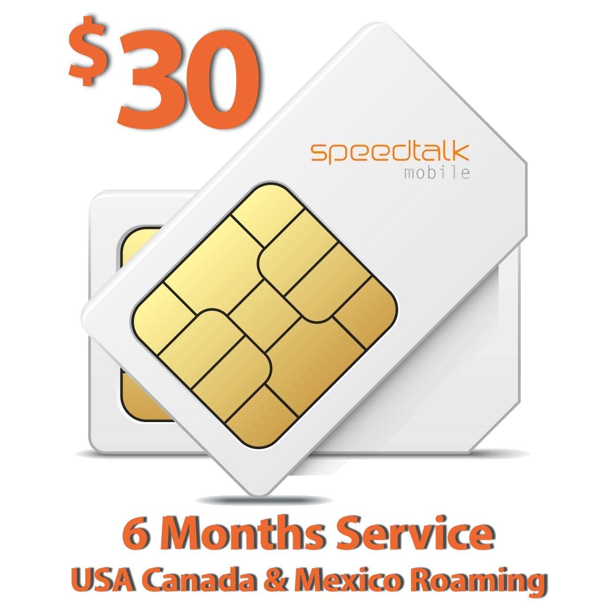 SIM Card for GSM GPS Tracking Kid Child Elderly Pet SmartWatch Car Tracker  Devices Locators - 6 Months Service - USA Canada & Mexico Roaming