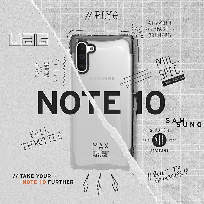 UAG Samsung Note10 Note10+ 全透明耐衝擊保護 威禹公司貨