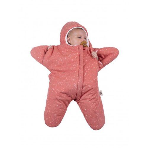 BabyBites 西班牙鯊魚咬一口 嬰兒包巾睡袋(輕量版)小海星-珊瑚橘★愛兒麗婦幼用品★ - 限時優惠好康折扣