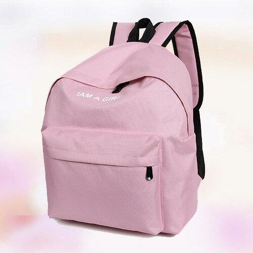 後背包~ 復古學院風撞色小清新後背包 簡約學生書包 包飾衣院 P1465  附發票