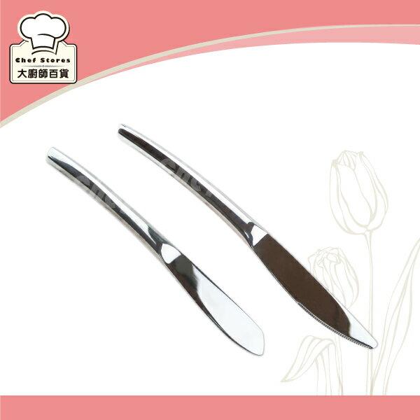 LMG清蘭絲不鏽鋼甜點刀黃油刀蛋糕刀奶油刀果醬刀-大廚師百貨