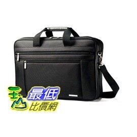 [104 美國直購] Samsonite 43269-1041 Classic Two Gusset 17 Toploader (Black) 公事包 筆電包