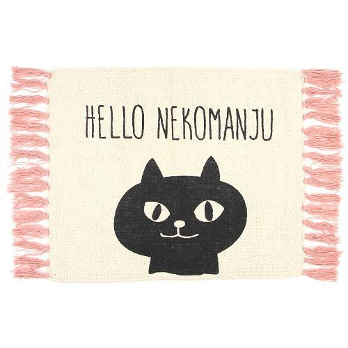 日本代購預購 日本喵星人 貓咪 萌貓 大門浴室地毯地墊腳踏墊防滑墊 滿600免運 809-382
