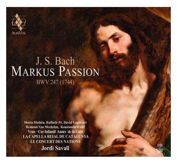 【停看聽音響唱片】【SACD】巴哈:聖馬可受難曲 / 約第.沙瓦爾 指揮 加泰隆尼亞皇家合唱團