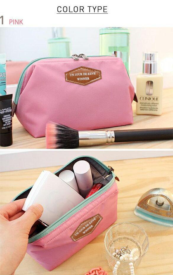 Lady Travel Makeup bag Cosmetic pouch Clutch Handbag 3