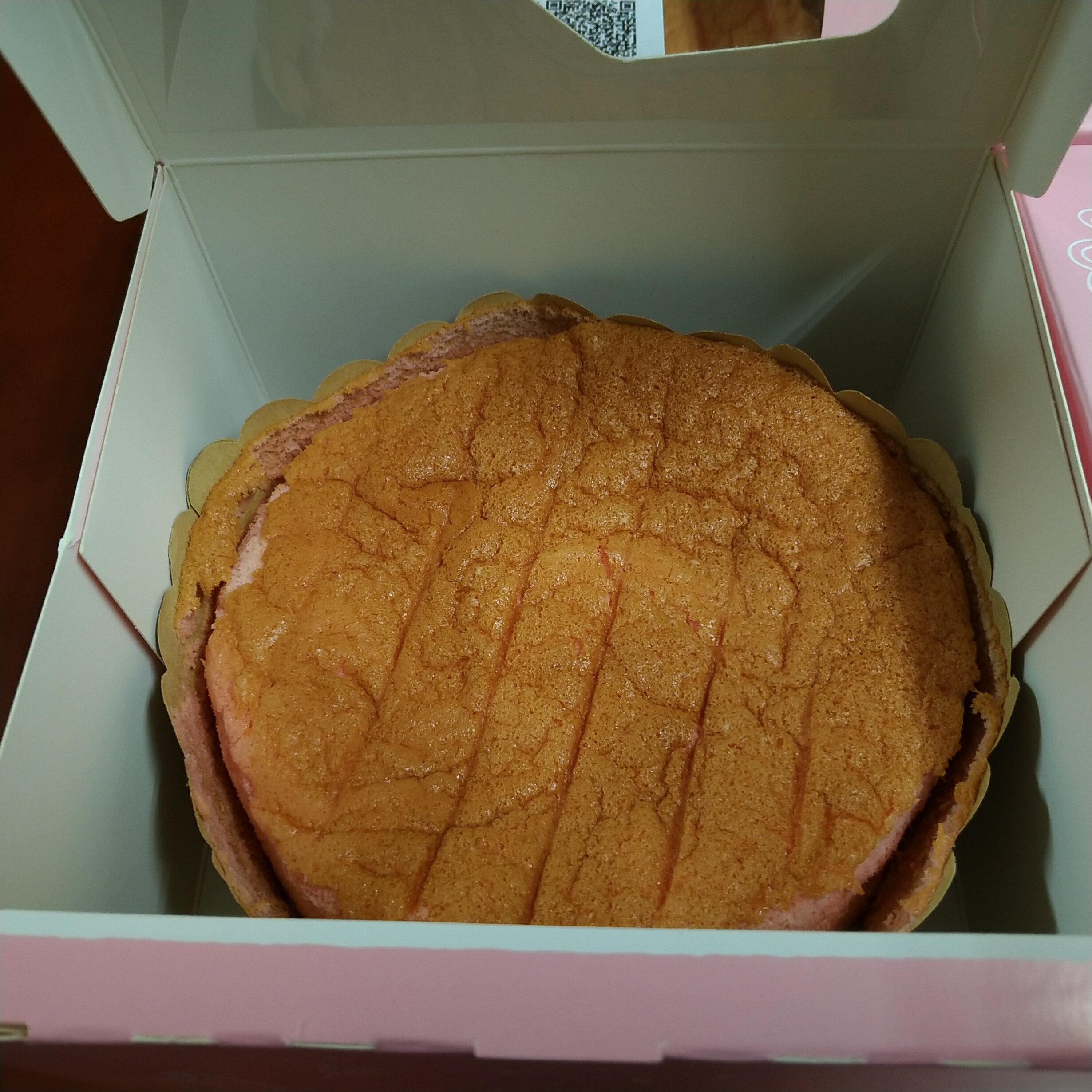 Andy's Kitchen 蔓薘 Manda 草莓口味 米蛋糕