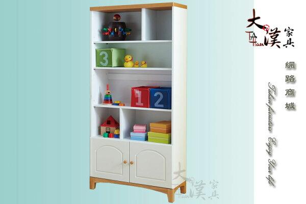 大漢家具:【大漢家具】鄉村2.7尺書櫃206-15-6
