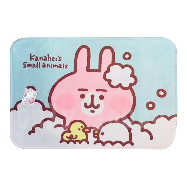 【真愛日本】18050900008地墊-卡拉赫拉洗澡趣卡娜赫拉的小動物兔兔P助地墊地毯腳踏墊防滑地墊