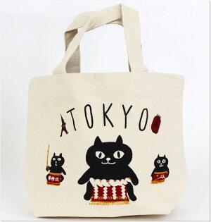 日本WASABI帆布手提包(貓力士)