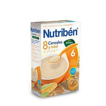 【安琪兒】西班牙【Nutriben 貝康】8種穀類比菲麥精600g - 限時優惠好康折扣