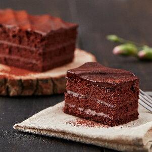 【樂田麵包屋】73%生巧克力長條蛋糕★73%生巧克力醬X可可蛋糕體→地表超強濃郁柔潤★常溫靜置30-60分鐘後享用最好吃!真的不是普通的巧克力蛋糕 0