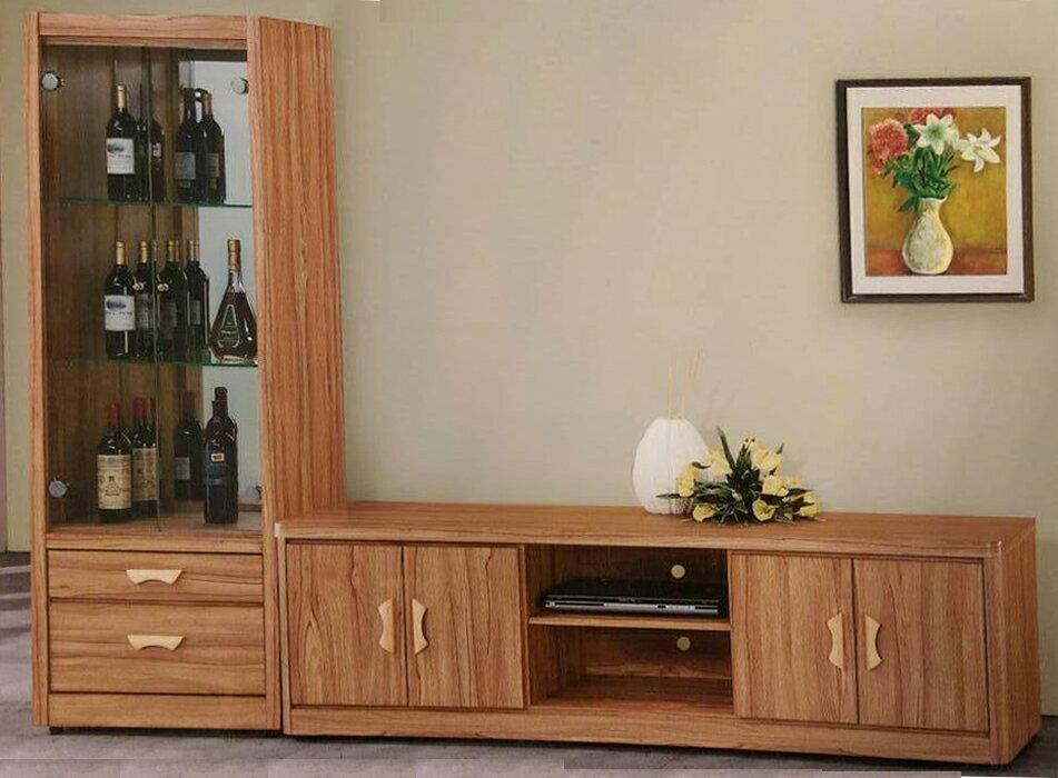 【尚品傢俱】 736-21 斯瓦爾巴柚木色6尺(另有4、5、7尺)電視櫃/TV櫃/TV Cabinet