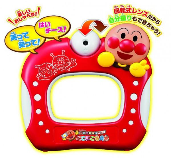 日本 Anpanman 麵包超人 兒童專用照相機 數位相機 可自拍*夏日微風*