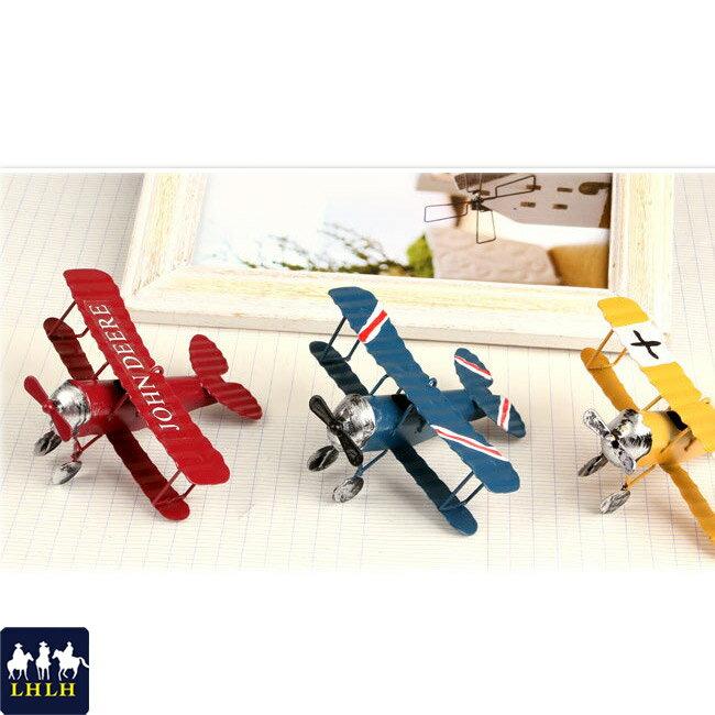 擺件 飛機模型 玩具 復古 半手工 【現貨】