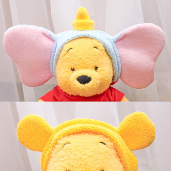 PGS7日本迪士尼系列商品-日貨迪士尼立體耳朵造型髮帶小熊維尼小飛象【SWD71288】