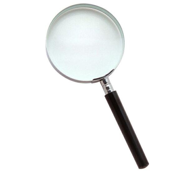 【銀元氣屋】銀髮族手持型電木柄放大鏡-A005
