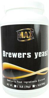 MAX 麥斯 啤酒酵母粉 2.2磅 歐盟進口