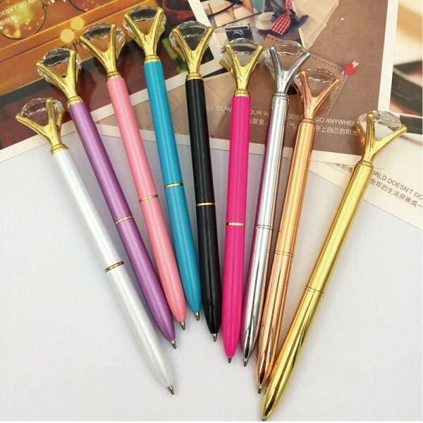 鑽石造型筆原子筆水鑽筆【櫻桃飾品】【25458】
