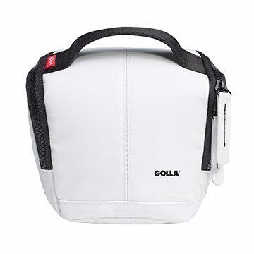 【拆封福利品】Golla 北歐潮流單眼相機包(清透白) G1360