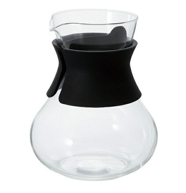 金時代書香咖啡  HARIO 黑色濾泡茶壺 500ML TDC-50-B