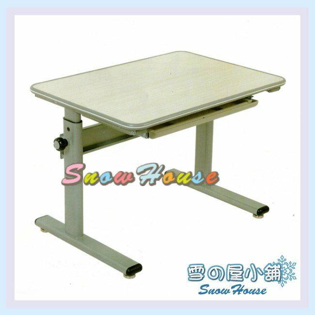 ╭☆雪之屋居家生活館☆╯AA117-07 CT-8012SD兒童桌(白橡色)(DIY自組)/書桌/辦公桌/電腦桌/學生桌