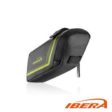 IBERA 流線型座墊袋IB-SB16(M) /城市綠洲(台灣製造、輕量化、自行車、腳踏車、反光飾條)