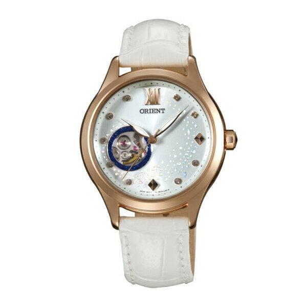Orient 東方錶(FDB0A008W)藍月奇蹟鏤空機械錶/白面36mm