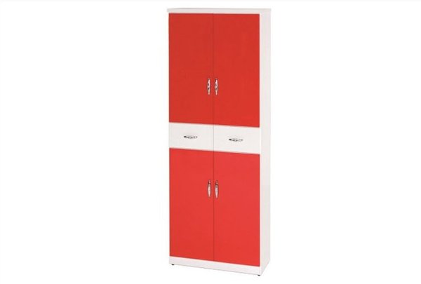 【石川家居】896-07(紅白色)鞋櫃(CT-333)#訂製預購款式#環保塑鋼P無毒防霉易清潔