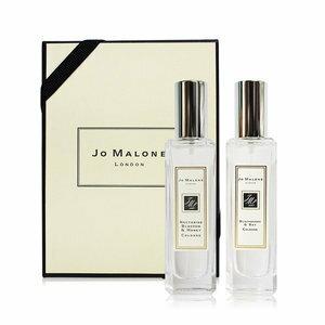 香水1986☆Jo Malone 淡香水2入組 黑莓子與月桂葉30ML+杏桃花與蜂蜜30ML