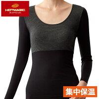 保暖推薦發熱衣推薦到【Gunze郡是】集中型保暖發熱衣八分袖-黑(MH9246-BLK)就在GUNZE 郡是推薦保暖推薦發熱衣