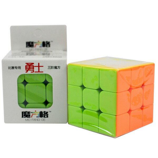 魔方格 勇士三階魔術方塊 169(螢光色5.7cm) / 一個入(定100) 比賽專用 奇藝三階魔方 3x3x3-鑫-首CS84912 1