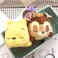 小熊維尼周邊商品推薦PGS7 日本迪士尼系列商品 - 日本 迪士尼 春季 娃娃 小吊飾 維尼 Winnie 小鹿 斑比 Bambi【SKD7451】