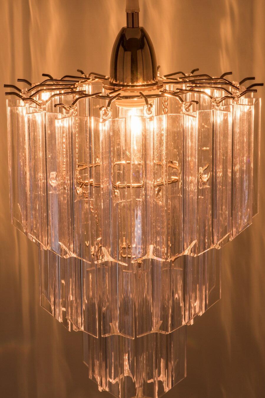 法國金透明壓克立吊燈-BNL00067 2