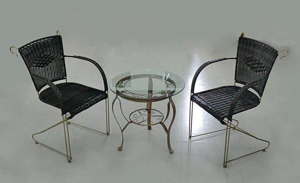 【尚品傢俱】863-02 瓊斯貝 單人藤椅/休閒椅/戶外椅