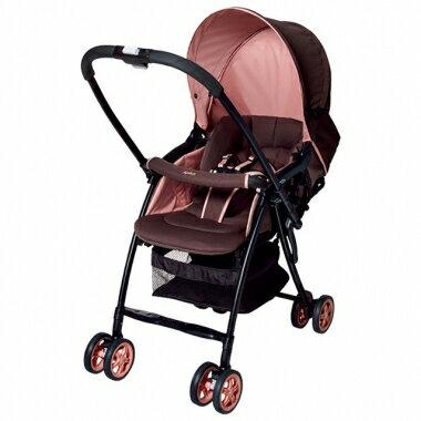 ★最後1台★aprica karoon雙向輕量型推車 - 浪漫粉紅PK『121婦嬰用品館』