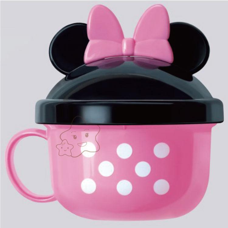 【大成婦嬰】日本超人氣 Disney 米奇、米妮副食品餐杯組 (1入) 附湯匙 2