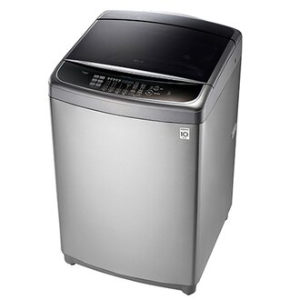 【LG樂金】16公斤蒸善美 DD直立式變頻洗衣機。不鏽鋼銀/WT-SD166HVG