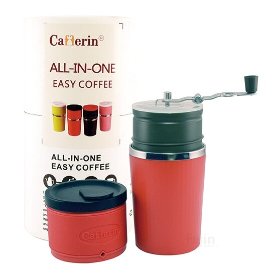 【福璟咖啡】Cafferin all in one 4合1 第二代新款手沖研磨隨行咖啡杯