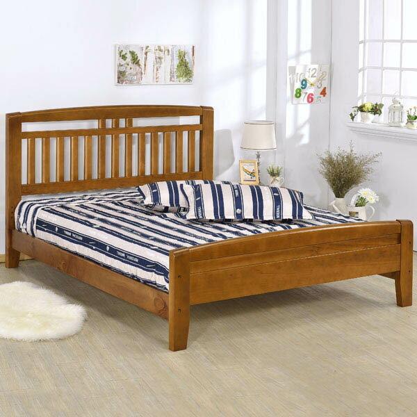 床架/床台/床組/雙人床/木床架/床組/房間組/臥室【Yostyle】千葉床架組-雙人5尺(不含床墊)