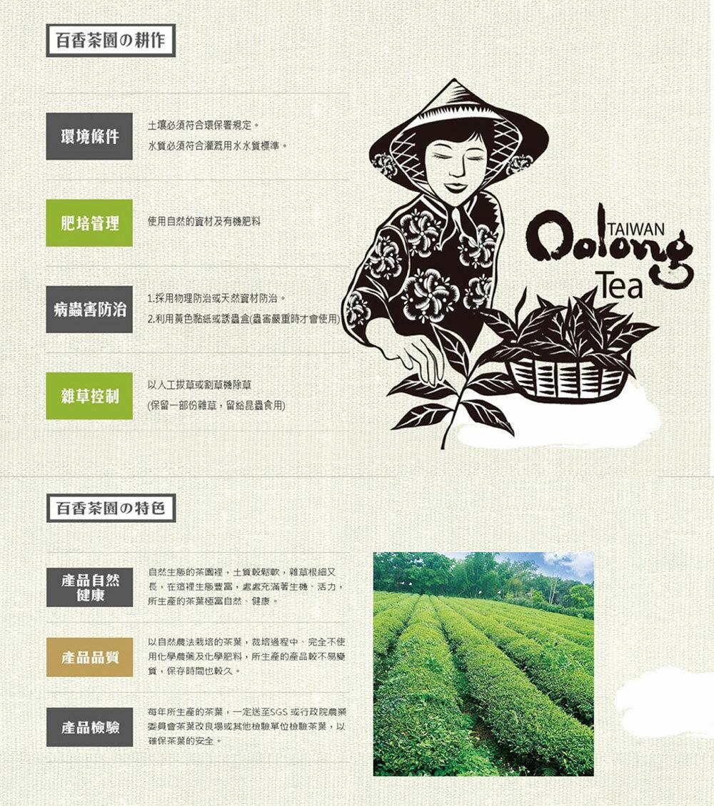 【百香】珍藏綠茶100g 2鐵罐組 百香茶葉 3