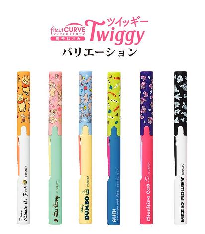 【百倉日本舖】日本進口PLUS迪士尼筆型剪刀(附蓋)/攜帶式剪刀