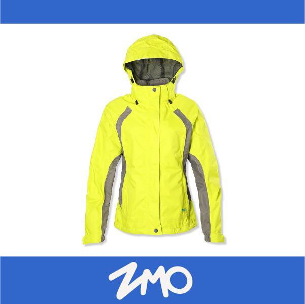 萬特戶外運動 ZMO JG342-LY 女戶外防風雨拆帽外套 透氣 防水 防風 黃色