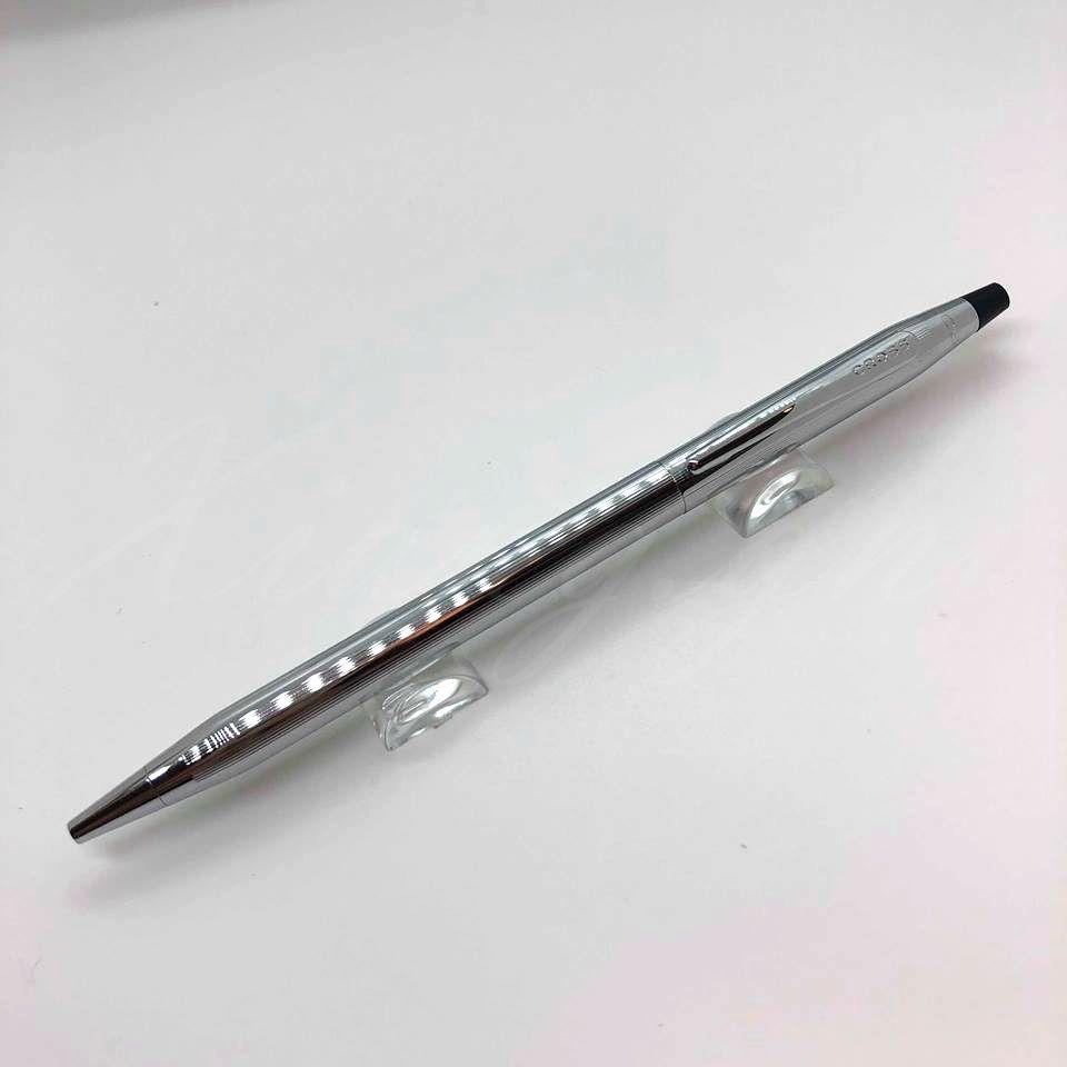 祥綺精品名筆屋 高仕CROSS-原子筆-新世紀系列-3502-亮鉻
