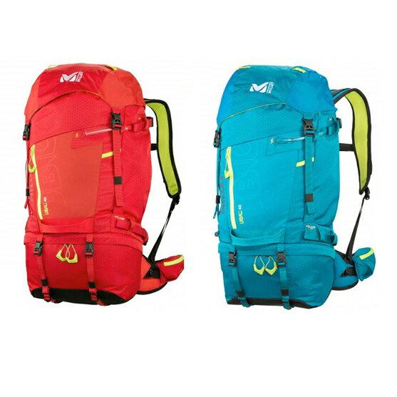【出清】法國MilletUBICMIS1920輕量技術攀登背包40升登山背包休閒背包