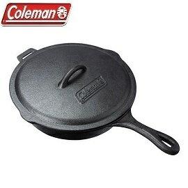 [Coleman]經典鑄鐵平底鍋公司貨CM-21880