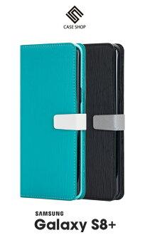 Samsung Galaxy S8+ / S8 PLUS 木紋側掀皮套 手機套 CASE SHOP